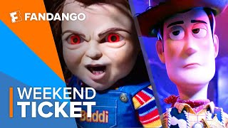 In Theaters Now: Toy Story 4, Child's Play, Anna | Weekend Ticket