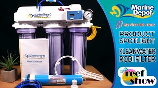 Marine Depot Kleanwater RODI Filter: TRS Product Spotlight