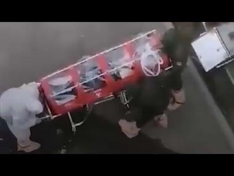 Самара: в больницу привезли пациента в боксе