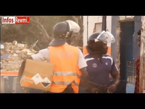 Chaude opération de Déguerpissement à Mbacké