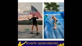 👉🏼 STOCKS Vs Criptos 💥 [#YOUTUBESHORTS ]