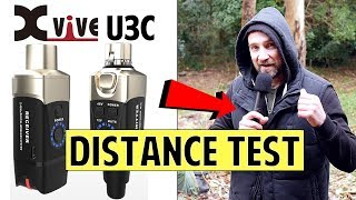 The New XVIVE U3C Wireless Condenser Pack - Distance Test!