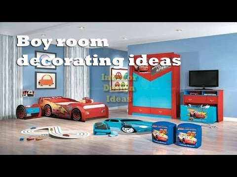 Boy Room Decorating Ideas - Affordable Kids Room Decorating Ideas