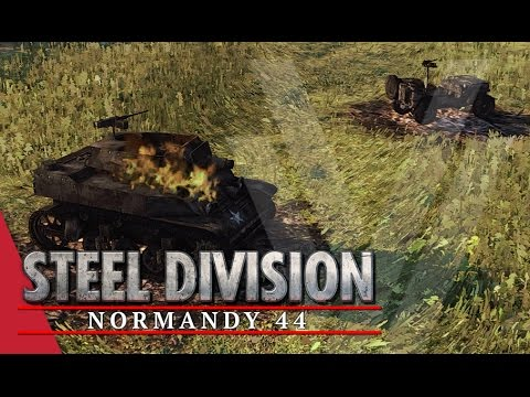 Goodbye Scott! Steel Division: Normandy 44 Beta Gameplay #14 (Colombelles, 2v2)