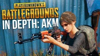 PUBG In Depth: AKM Assault Rifle Guide (Damage, Range, Recoil, Drop, & Testing)