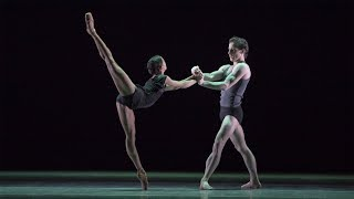 The Royal Ballet rehearse Infra