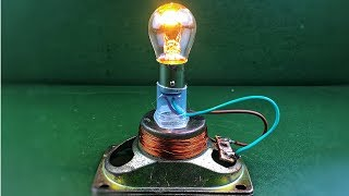 Science project 2018 - Free energy generator with speaker magnets using dc motors 100%