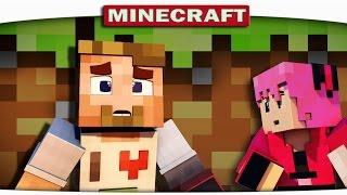 ч.01 - Подземные приключения Minecraft CRAZY HG