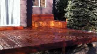 Building A Cedar Deck Denver Deck Contractor Part 5