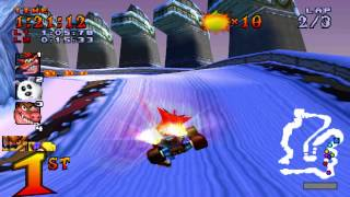 Video Crash Team Racing (NTSC) 101% Walkthrough - Part 14 - Polar Pass [Trophy] download MP3, 3GP, MP4, WEBM, AVI, FLV Oktober 2018