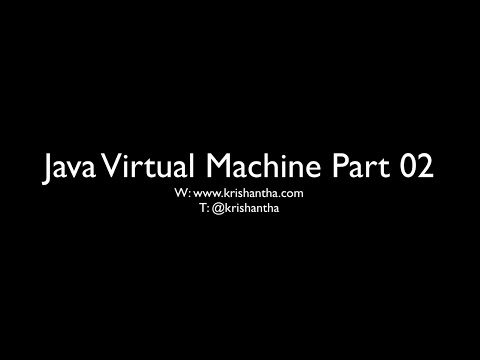 JVM Part 02 - Inside Java Virtual Machine