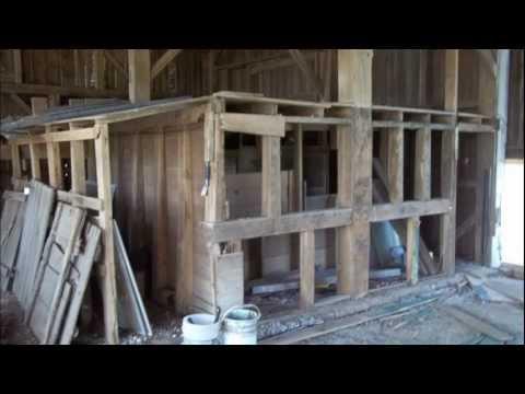 Barn Reclamation Process