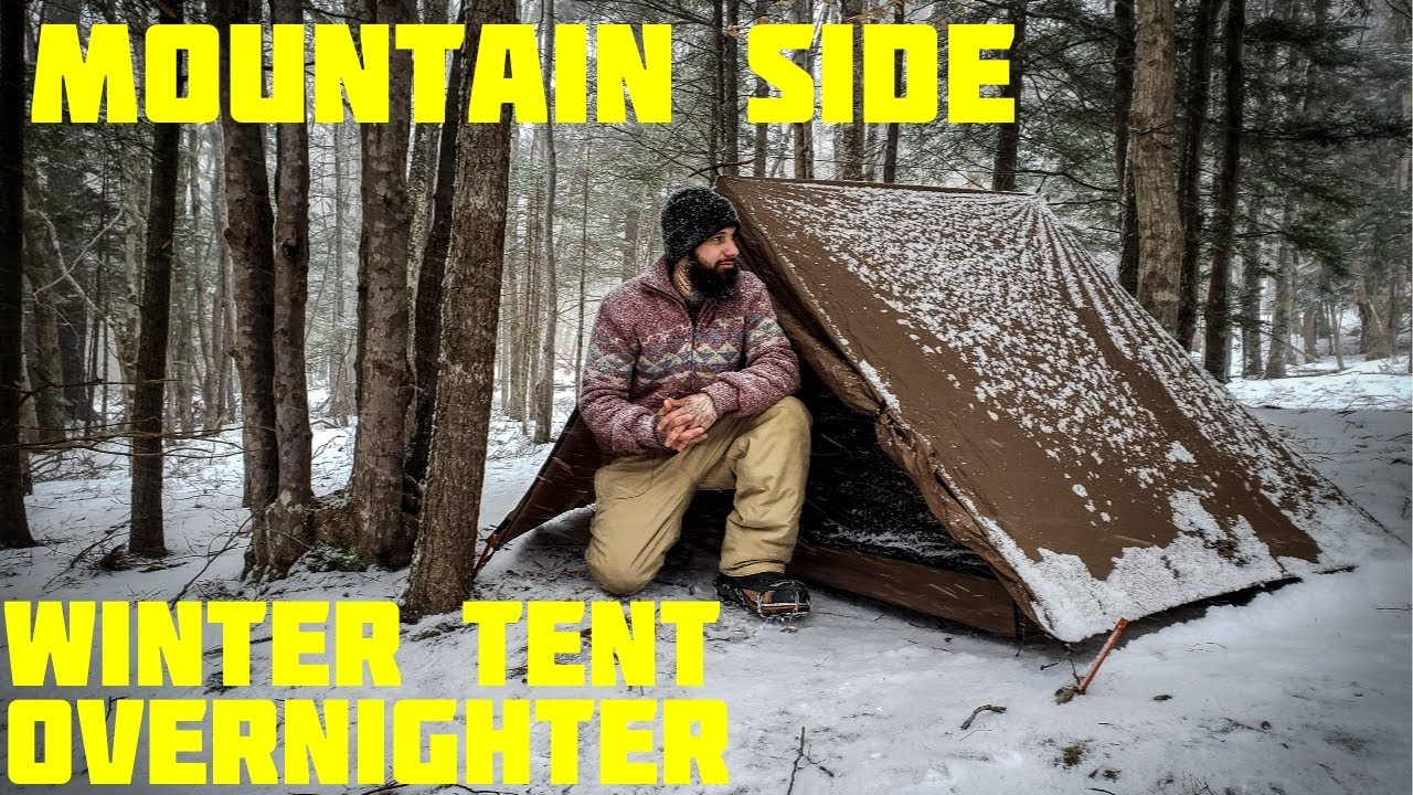 Download Winter Tent Camping