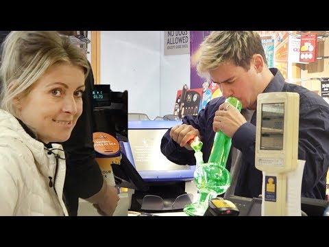 Fake Convenience Store Employee Prank! (BEHIND THE COUNTER)