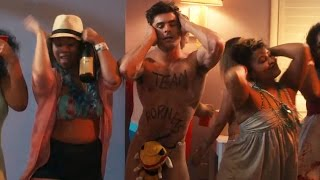 Zac Efron Does The Macarena Half-Naked In NEW