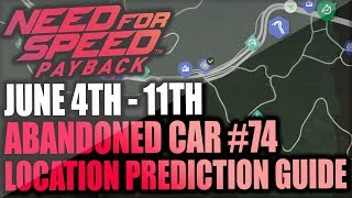 Need For Speed Payback Abandoned Cars #74 - Prediction Guide + Gameplay - Summer Special Land Rover!