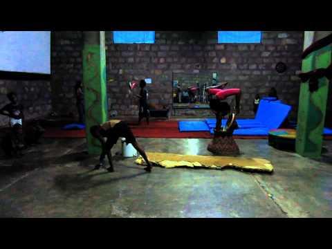 Circus Debre Berhan - rehearsal room in Debre Berhan