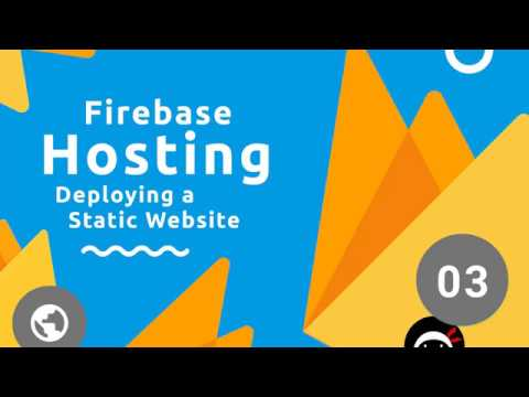 Firebase Hosting Tutorial #3 – Deploying a Static Website