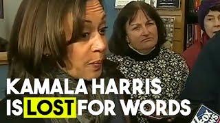 Kamala Harris Is Lost For Words