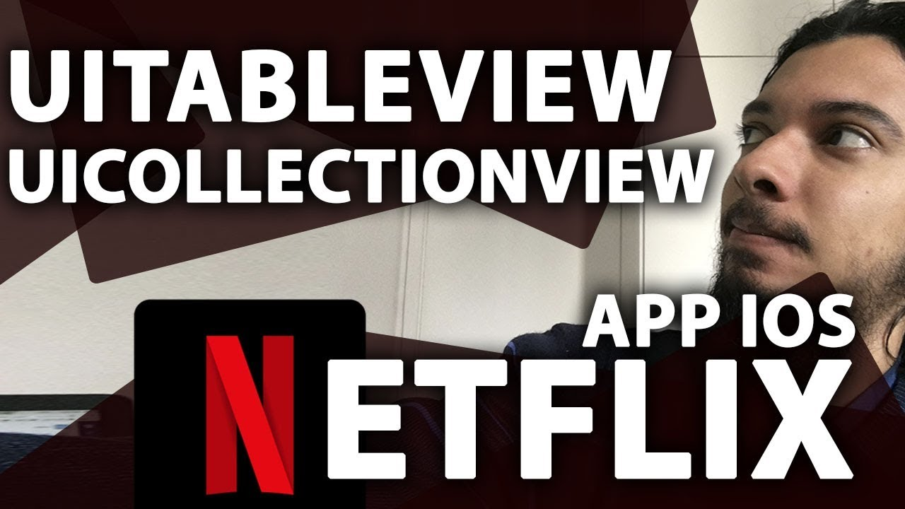 Netflix Feed Layout iOS: UITableView Com UICollectionView