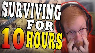 SURVIVING HOI4 MULTIPLAYER FOR 10 HOURS! DON'T EVER DO THIS CHALLENGE! - HOI4 Man the Guns
