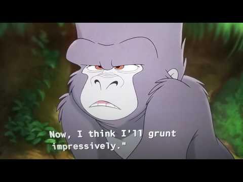 Tarzan 2 terk makes fun of kerchak