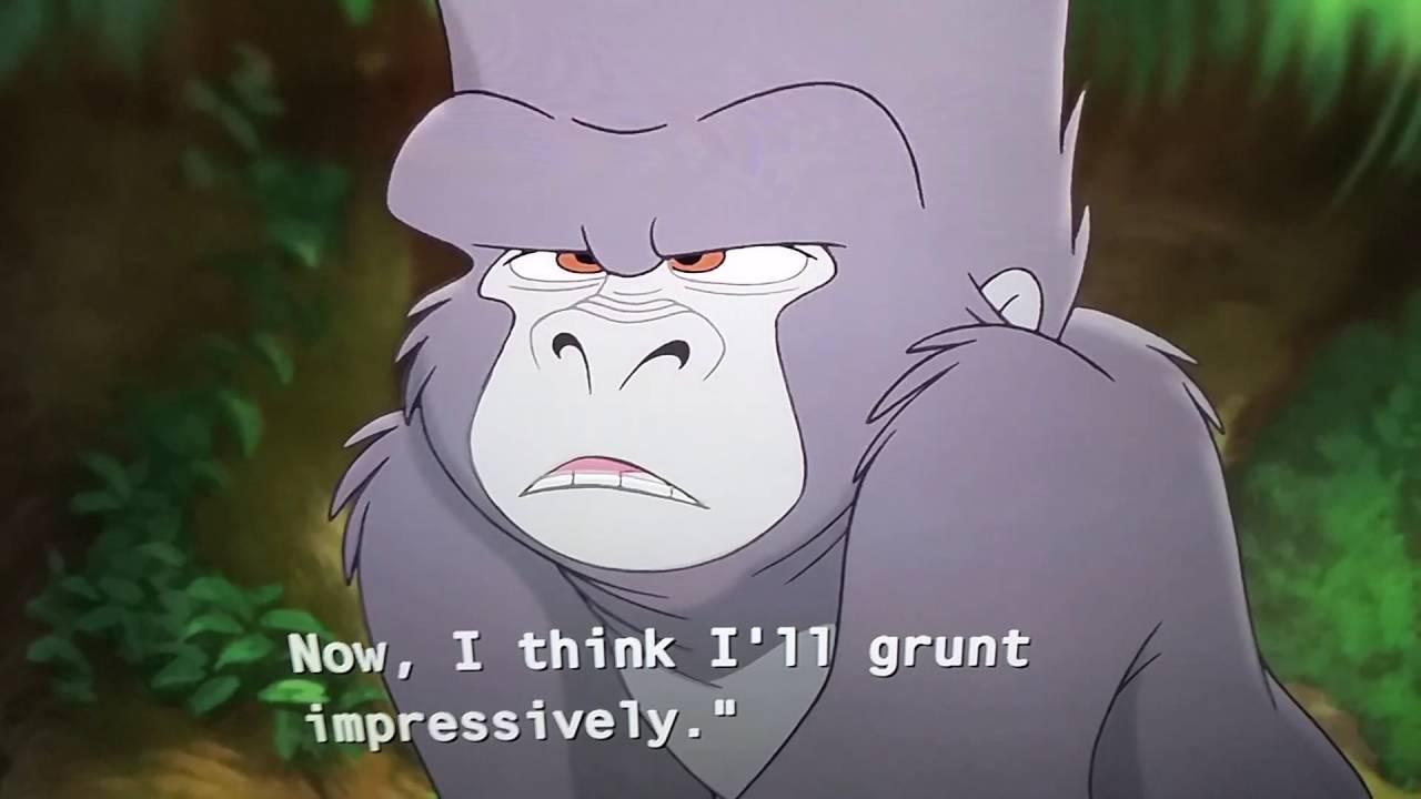 Tarzan 2 Terk Makes Fun Of Kerchak Youtube
