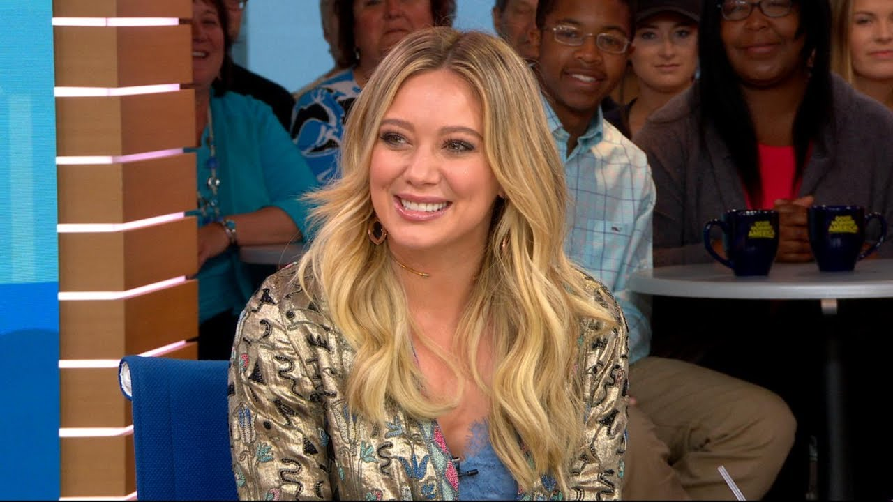 7f6c466afaae Younger  star Hilary Duff reveals when her son realized she s famous ...