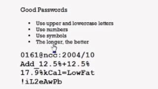 SfC tutorial: Creating great passwords