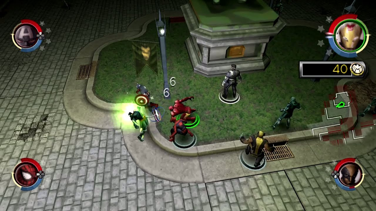 Marvel Ultimate Alliance 2 Psp Part 1 Hd Ppsspp Youtube
