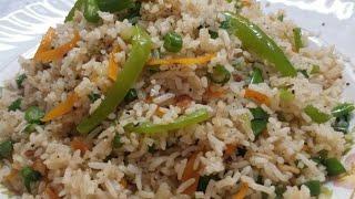 Veg fried rice l fried rice l वेजिटेबल फ्राइड राइस