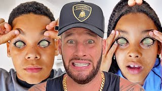Something WEIRD is HAPPENING to our EYES | FamousTubeFamily