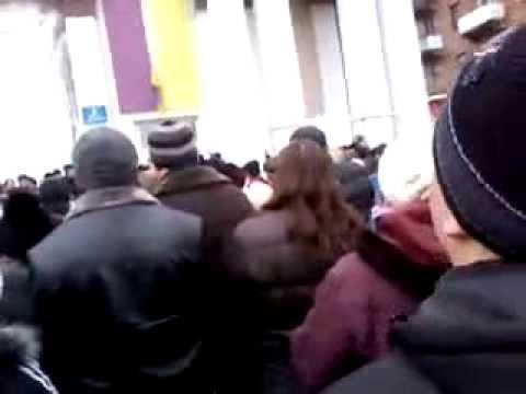 Донбасс вставай! Красный Луч (Луганская область) за Россию! 01.03.2014