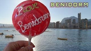???? Lively atmosphere of Benidorm 4K ???? Beaches restaurants bars pubs sea ???? Drone Spain Travel Video