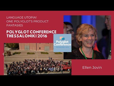 Ellen Jovin - Language Utopia! One Polyglot's Product Fantasies
