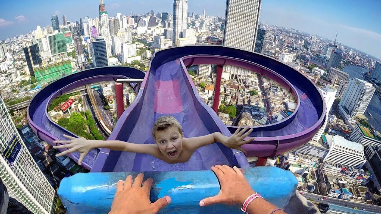 07 Most Dangerous Waterslides In The World In Hindi/Urdu . These water slides will make you cry.