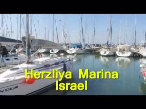 Herzliya marina - sailing along the coast of Israel