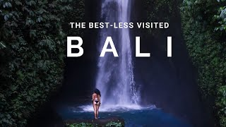 BEST-LESS Visited Places In Bali - Indonesia 🇮🇩