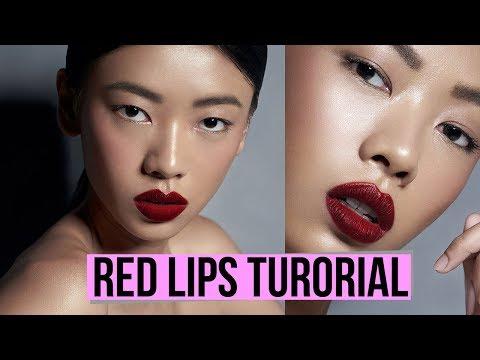 makeup-tutorial-red-lips-yang-sempurna-|-archangela-chelsea
