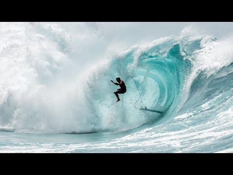 Why Is a Good Old Fashioned Waimea Shorebreak Beating So Satisfying to Watch?