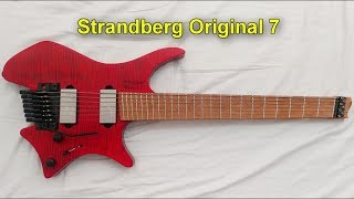 .Strandberg* Original 7 test