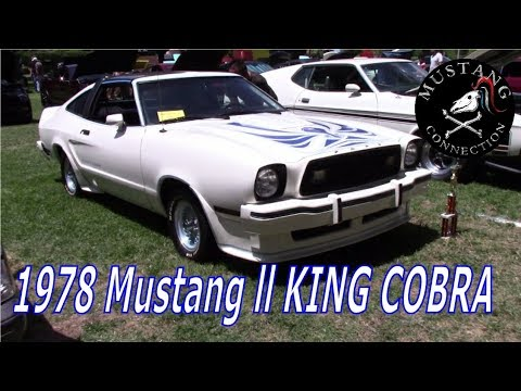 1978 Mustang ll King Cobra full walk around with owner Bill www.MustangownersofCA.org