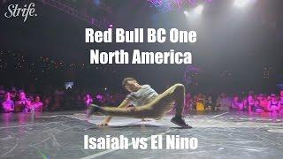 El Nino vs Isaiah | Red Bull BC ONE North America 2014 | StrifeTV