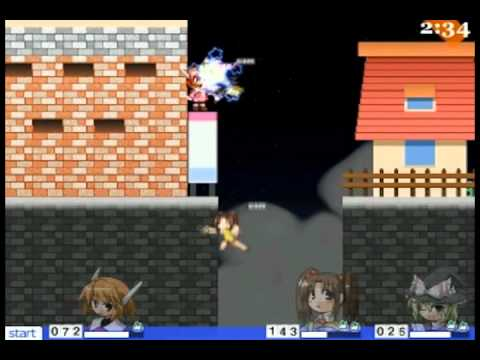 Tairan tataka no Air Smash Ex  (Doujin gameplay)