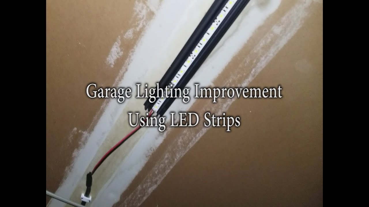 Strip Led Garage Lighting Improvement Using Led Strip Lights