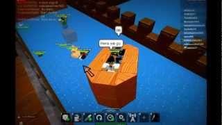Roblox - pazzo in barca