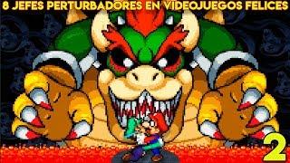 8 Jefes Perturbadores en Videojuegos Felices (PARTE 2) - Pepe el Mago