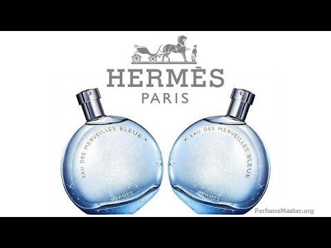 hermes eau des merveilles bleue perfume youtube. Black Bedroom Furniture Sets. Home Design Ideas