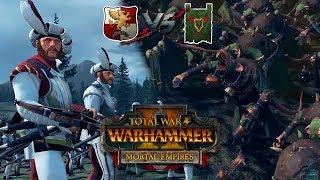 """Империя VS Скавены ⚔ Total War: Warhammer 2 """"Империи Смертных"""""""