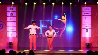 BANJARA SCHOOL OF DANCE (AND BOYFRIENDS) - A MAN'S WORLD - INDIA FIESTA LATINA 2014